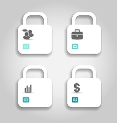 Set brochures can be used for infographics vector image vector image