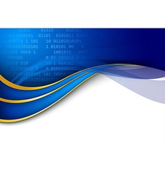 Modern technology background template vector image