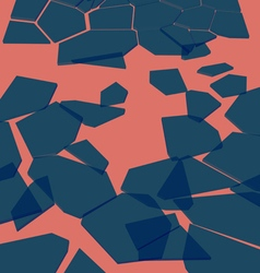 Background broken glass vector