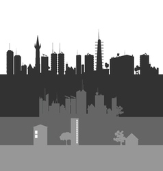 city art vector image