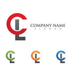 Connecting concept logo template icon design vector