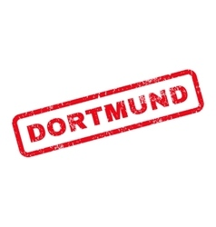 Dortmund Text Rubber Stamp vector