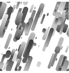 Grey seamless abstract gradient rounded stripe vector