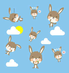 little cony pattern vector image