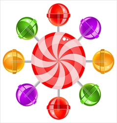 Lollipops02 vector