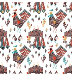 New Year Roosters vector