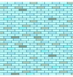 bricks wall vector image vector image