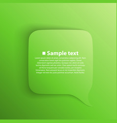 chat background green vector image