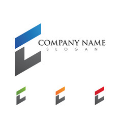 connecting concept logo template icon design vector image vector image