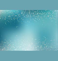 Abstract falling golden glitter lights texture vector