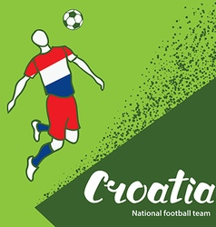 Croatia 4 vector