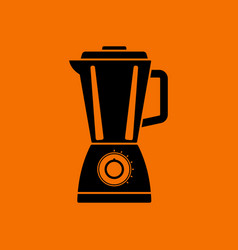 kitchen blender icon vector image