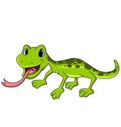 salamander cartoon vector image