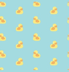 seamless minimal pattern with bright yellow vector image