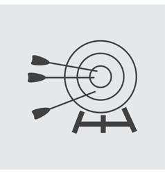Target amd arrow icon vector