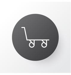 trolley icon symbol premium quality isolated vector image