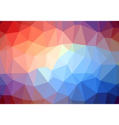 Modern Colorful Abstract Retro Triangle Background vector image