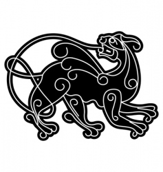 smartly slavic mythical deity vector image vector image