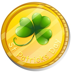 A token for St Patricks Day vector image