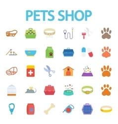 Pets shop vector image