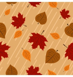 seamless autumn vector image vector image