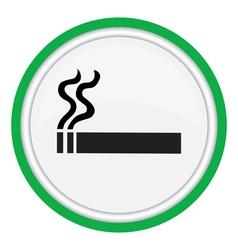 smoking area vector image