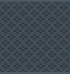 abstract dark grey seamless pattern vector image