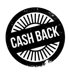 Cash back stamp vector image