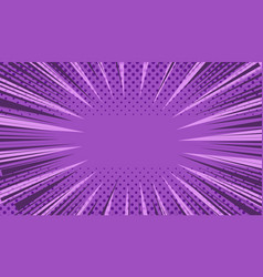 comic book page purple concept vector image