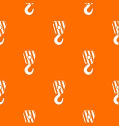 Crane hook pattern seamless vector