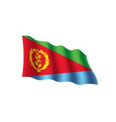 Eritrea flag vector