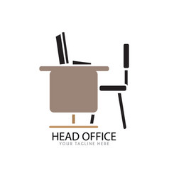 office logo for work vector image