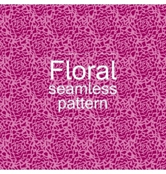 Red-violet floral seamless pattern vector image