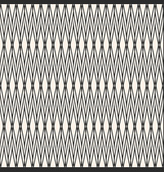 Seamless pattern with thin intersecting lines vector