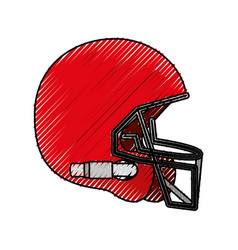 american football wear vector image