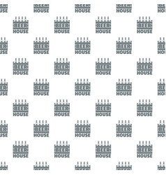 Beer pattern seamless vector
