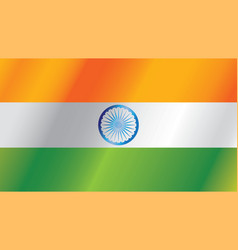 indian independence day flag vector image
