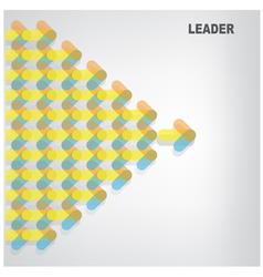 leader symbol vector image