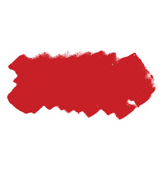 paintroller red banner vector image