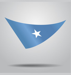 Somalian flag background vector