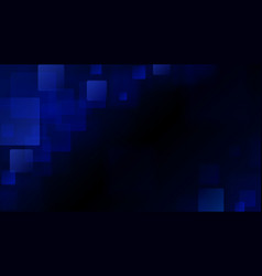 blue abstract background of blurry squares vector image vector image