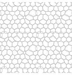 Abstract circle bubbles seamless pattern vector