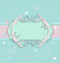 Card cover vector