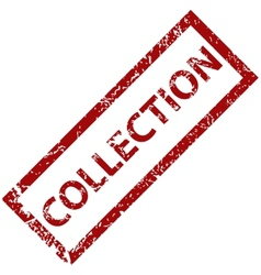 Collection rubber stamp vector image