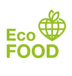 eco food vector image