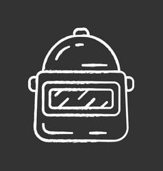 game helmet chalk icon virtual video vector image
