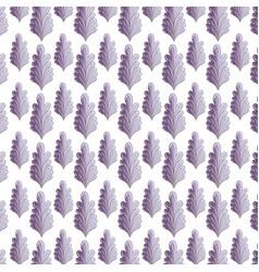nice plant decoration herbal botany background vector image