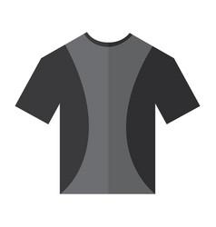 t shirt crew neck icon image vector image