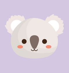 Koala animal icon vector