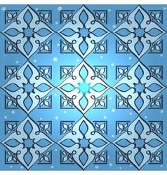 Seamless islamic wallpaper pattern vector image